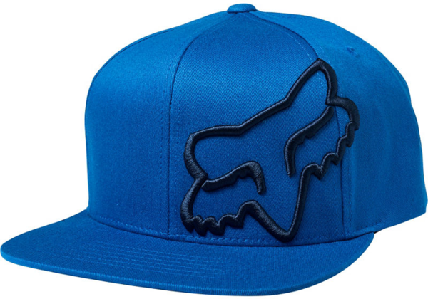 Fox Racing Headers Snapback Hat Color: Royal Blue