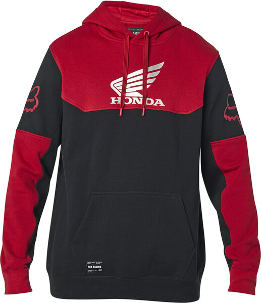 Fox Racing Honda Pullover Hoodie Color: Black/Red