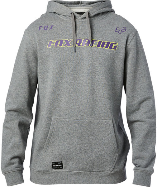 Fox Racing Honr Pullover Fleece Color: Heather Graphite
