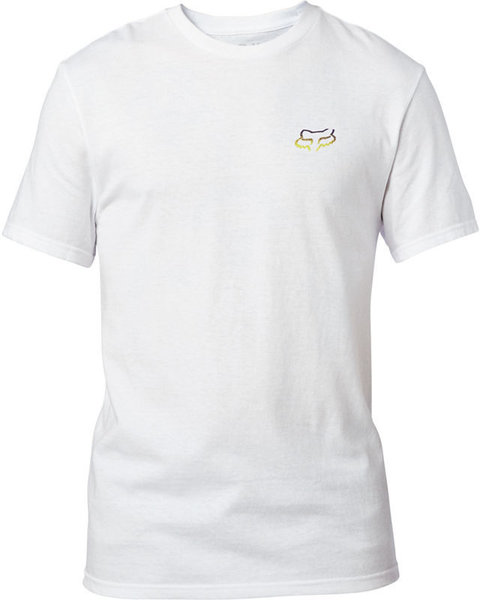 Fox Racing Honr Short Sleeve Tee Color: Optic White