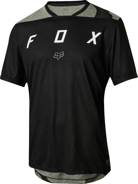 Fox Racing Indicator Mash Camo Jersey Color: Black