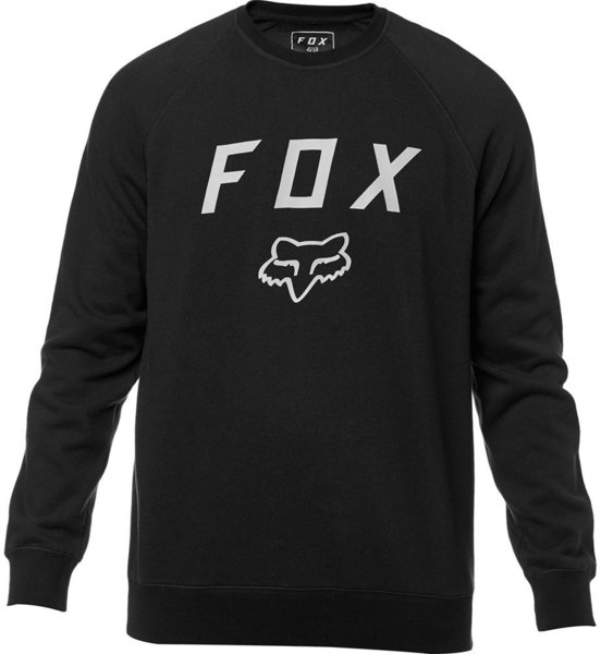 Fox Racing Legacy Crew Fleece Color: Black