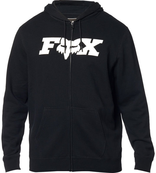 Fox Racing Legacy F-Head-X Zip Hoodie Color: Black