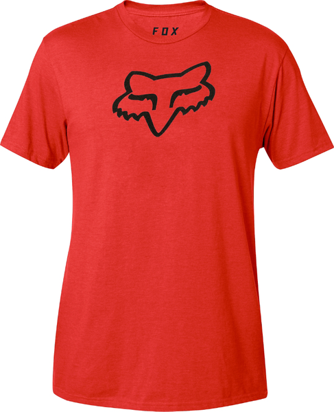 Fox Racing Legacy Fox Head Tee Color: Dark Red