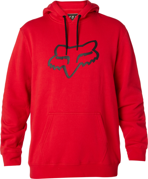 Fox Racing Legacy Foxhead Pullover Hoody Color: Dark Red