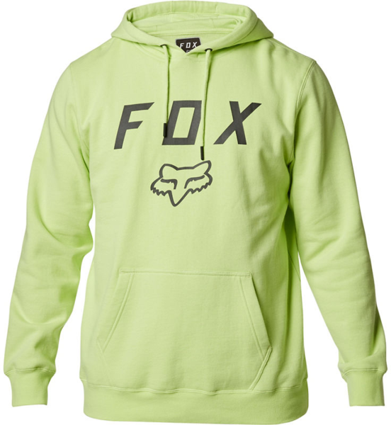 Fox Racing Legacy Moth Pullover Fleece Color: Lime