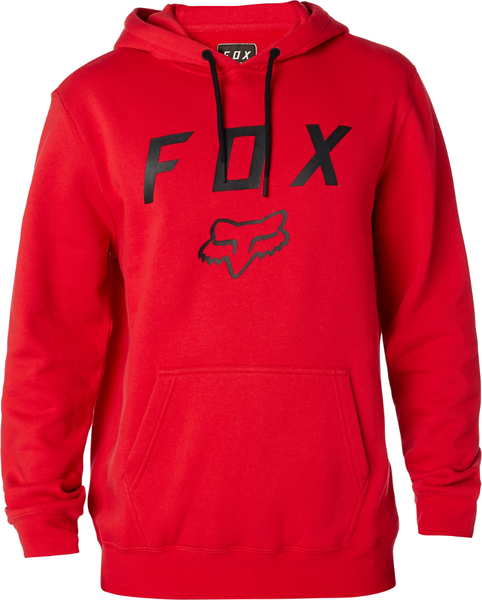 Fox Racing Legacy Moth Pullover Hoody Color: Dark Red