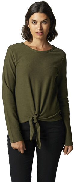 Fox Racing Lightning Long Sleeve Top Color: Olive Green