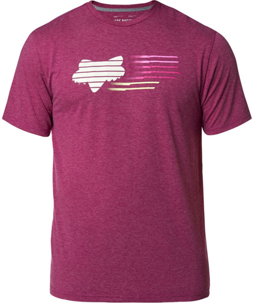 Fox Racing Lightspeed Head Short Sleeve Tech Tee Color: Heather Purple