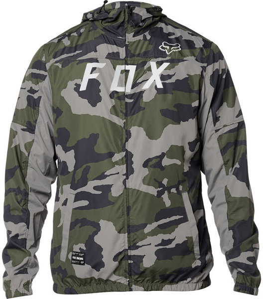 Fox Racing Moth Camo Windbreaker Jacket