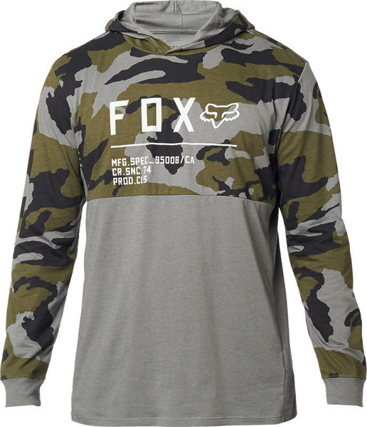 Fox Racing Non Stop Camo Hooded Long Sleeve Knit