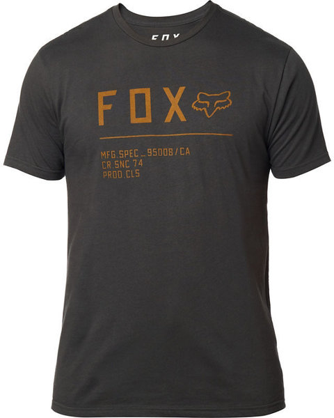 Fox Racing Non Stop Premium Tee Color: Black Vintage