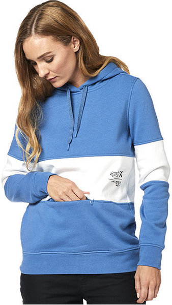 Fox Racing Non Stop Pullover Hoodie Color: Blue