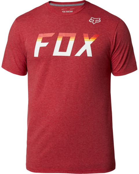 Fox Racing On Deck Short Sleeve Tech Tee Color: Chili