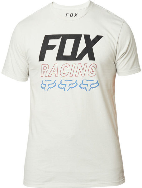 Fox Racing Overdrive Premium Tee Color: Light Grey