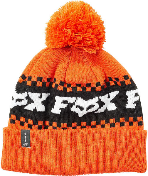Fox Racing Overkill Beanie Color: Atomic Orange
