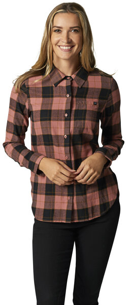 Fox Racing Pines Flannel Color: Dusty Rose