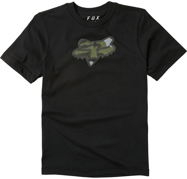 Fox Racing Predator Jr Short Sleeve Tee Color: Black