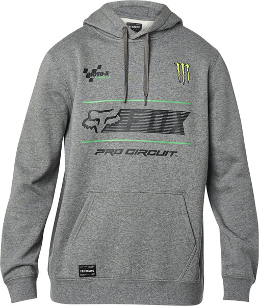 Fox Racing Pro Circuit Pullover Hoodie Color: Heather Graphite