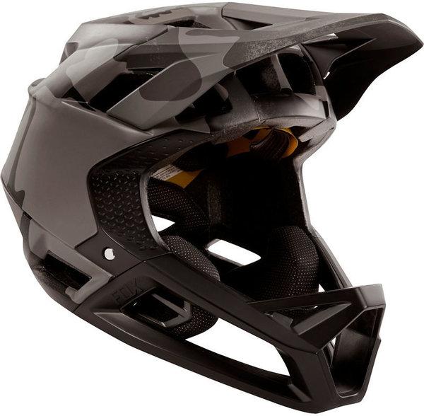 Fox Racing Proframe Black Camo Helmet