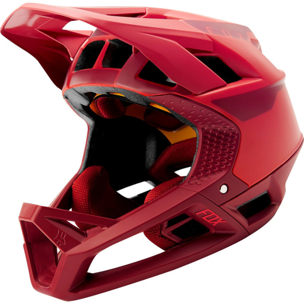 Fox Racing Proframe Helmet Quo Color: Bright Red