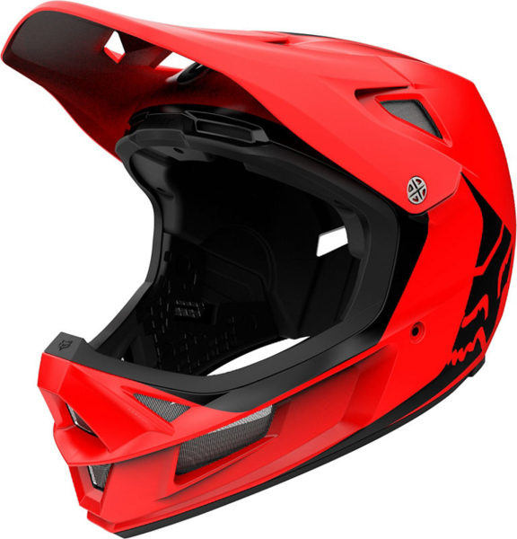 Fox Racing Rampage Comp Helmet Infinite Color: Bright Red