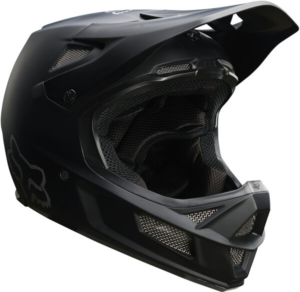 Fox Racing Rampage Comp Helmet Color: Matte Black