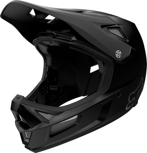 Fox Racing Rampage Comp Matte Black Helmet Color: Matte Black