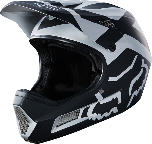 Fox Racing Rampage Comp Preme Helmet Color: Black/Chrome