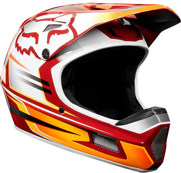 Fox Racing Rampage Comp Reno Helmet Color: Cardinal