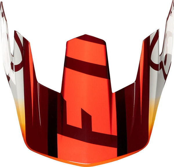 Fox Racing Rampage Comp Visor Reno Color: Cardinal