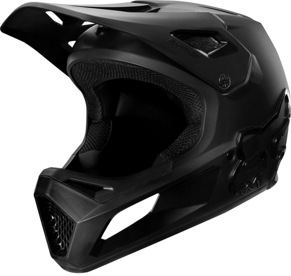 Fox Racing Rampage Helmet Color: Black/Black