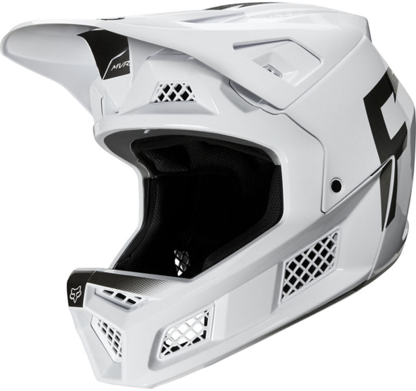 Fox Racing Rampage Pro Carbon Wurd Helmet Color: White