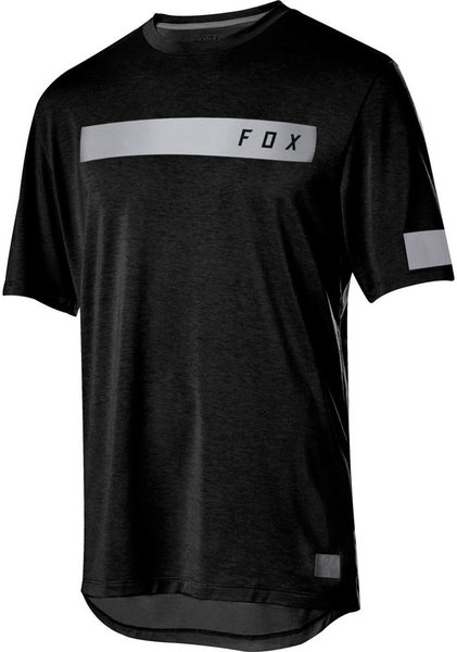 Fox Racing Ranger Drirelease Short Sleeve Bar Jersey Color: Black