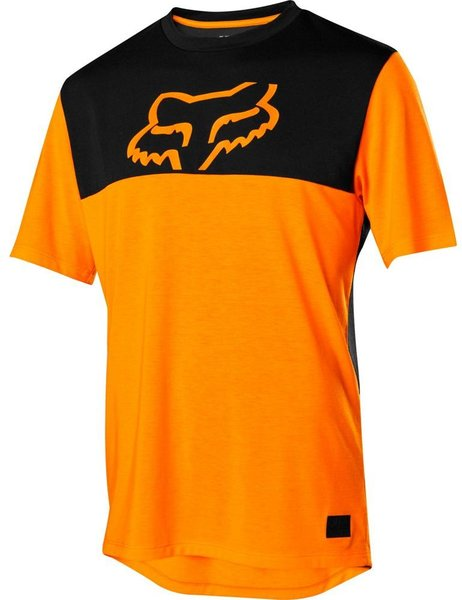 Fox Racing Ranger Drirelease Short Sleeve Jersey Color: Atomic Orange