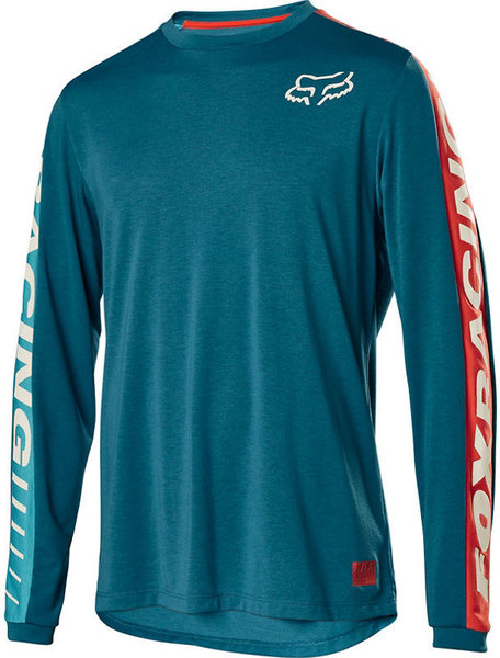 Fox Racing Ranger Drirelease Fox Jersey Color: Aqua