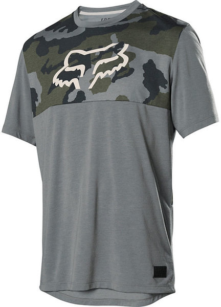 Fox Racing Ranger Drirelease Jersey Color: Green Camo