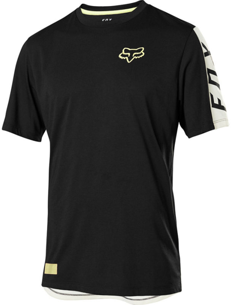 Fox Racing Ranger Drirelease Short Sleeve Fox Jersey Color: Black
