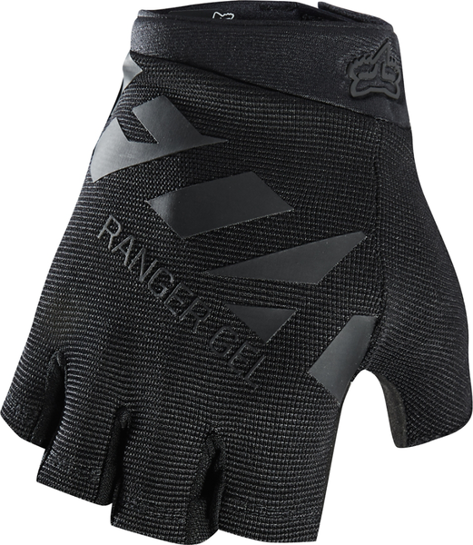 Fox Racing Ranger Gel Short Gloves Color: Black/Black