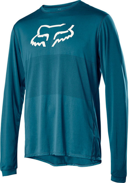 Fox Racing Ranger Fox Head Jersey Color: Maui Blue