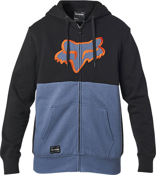 Fox Racing Rebound Sherpa Hoodie Color: Blue Steel