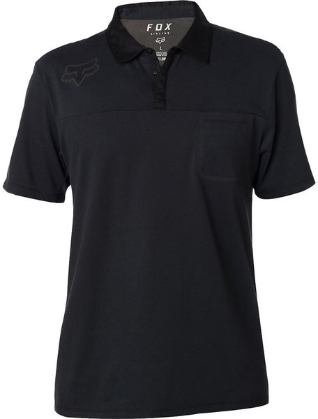 Fox Racing Redplate 360 Tech Polo Color: Black