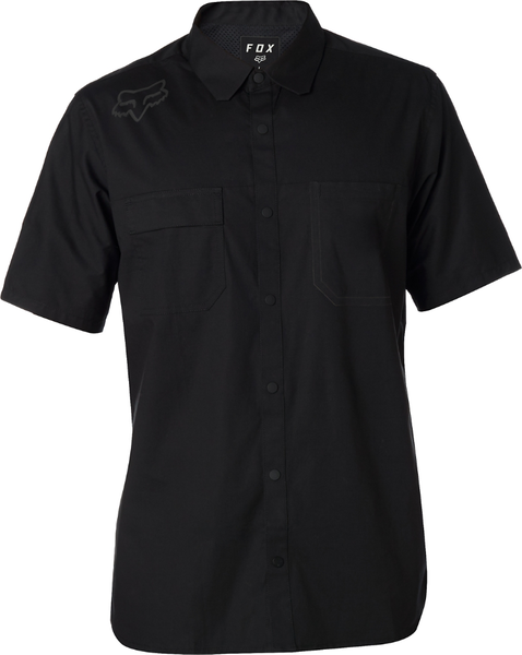 Fox Racing Redplate Flexair Work Shirt Color: Black