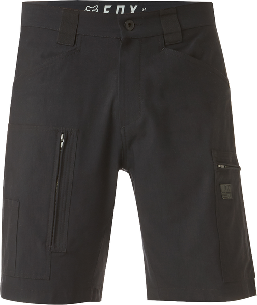 Fox Racing Redplate Tech Cargo Short Color: Black