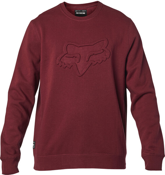 Fox Racing Refract DWR Crew Fleece Color: Cranberry