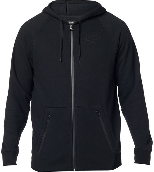 Fox Racing Refract DWR Zip Hoodie Color: Black