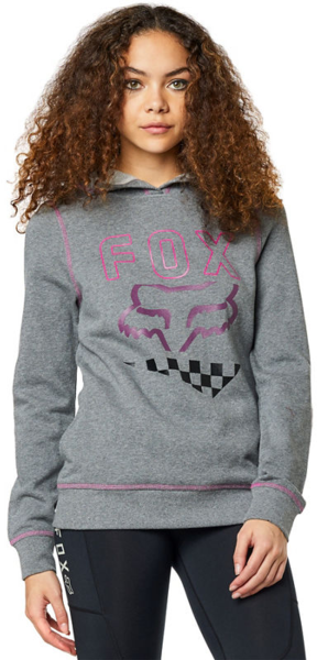 Fox Racing Richter Pullover Fleece Color: Heather Graphite