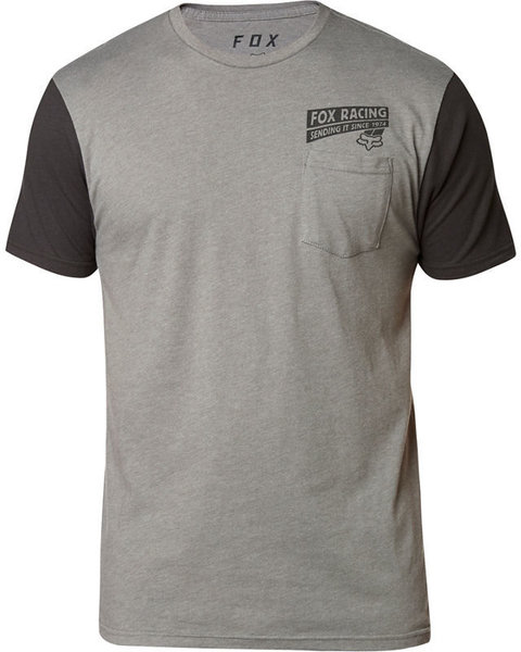 Fox Racing Sending It Short Sleeve Premium Tee Color: Heather Graphite