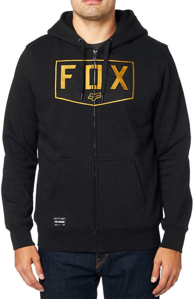 Fox Racing Shield Sherpa Hoodie Color: Black