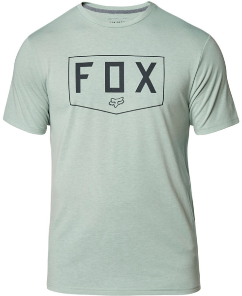 Fox Racing Shield Short Sleeve Tech Tee Color: Eucalyptus